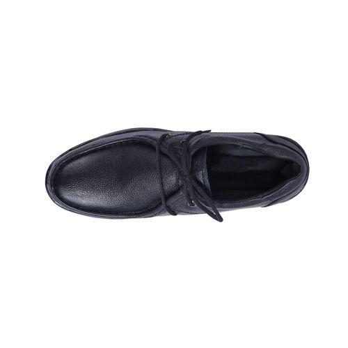 shoebook Derby Genuine Leather Black Formal Shoes