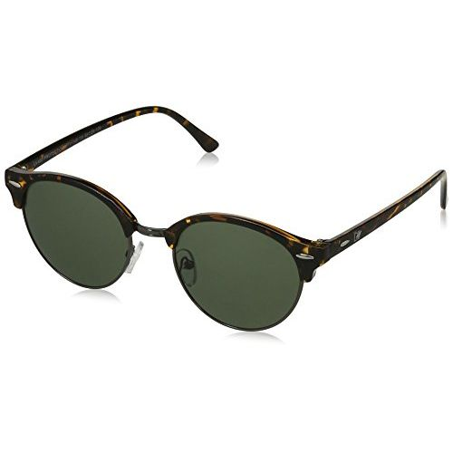 MTV Polarized Wayfarer Unisex Sunglasses - (MTV-148-C8|48|Green Color Lens)