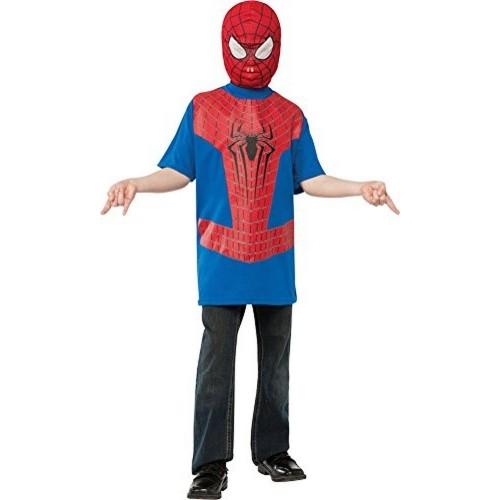 Rubieu0027s Spiderman Costume T-Shirt u0026 Mask  sc 1 st  Looksgud.in & Buy Rubieu0027s Spiderman Costume T-Shirt u0026 Mask online | Looksgud.in