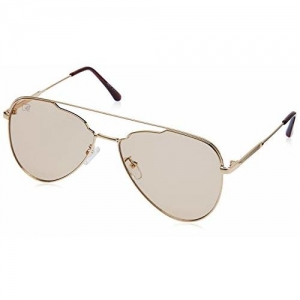 MTV Gradient Aviator Unisex Sunglasses - (L80-91 Brown Gradient|57|Brown Color Lens)