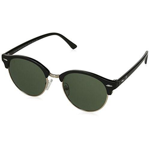 MTV Polarized Wayfarer Unisex Sunglasses - (MTV-148-C1|48|Green Color Lens)