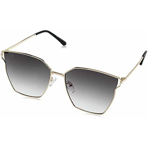 MTV Gradient Cat Eye Women's Sunglasses - (B80-79 Grey|62|Grey Color Lens)