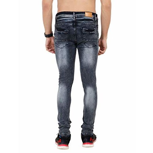 Mayor and Wood Slim fit Stretchale Grey Jeans