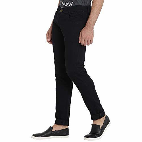 DAIS Skinny Fit Stretchable Mid Rise Mildly Wash Men's Denim Jeans Pants