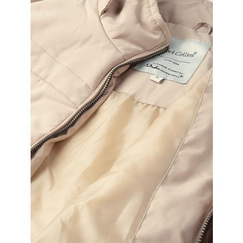 Fort Collins Women Beige Solid Parka Jacket