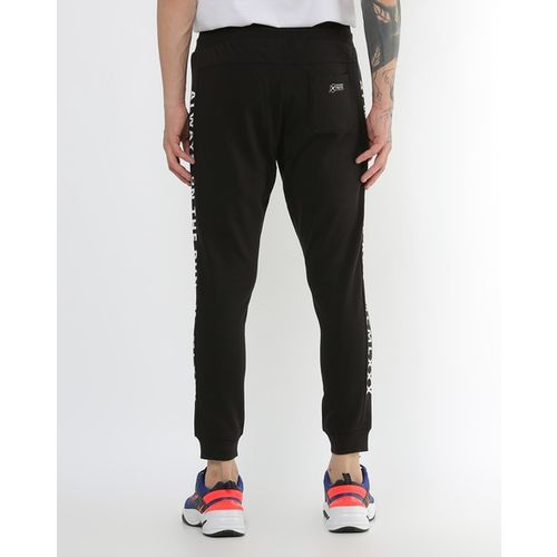FLYING MACHINE Ankle-Length Joggers with Insert Pockets