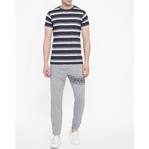 Hubberholme Mid-Rise Slim Fit Joggers with Applique