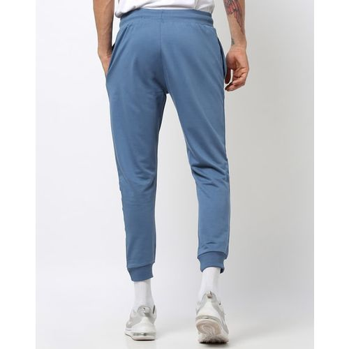 AJIO Placement Striped Slim Fit Joggers