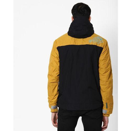 SUPERDRY Arctic Attacker Colourblock Zip-Front Hooded Jacket