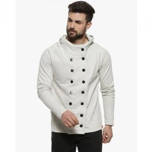 Campus Sutra Solid Jacket