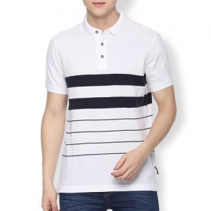 VAN HEUSEN Striped Polo T-shirt