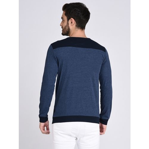 RIGO Textured Slim Fit Crew- Neck T-shirt
