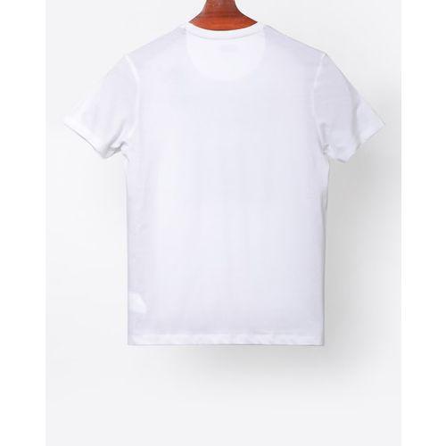 AJIO Star Wars Print Slim Fit Crew-Neck T-shirt