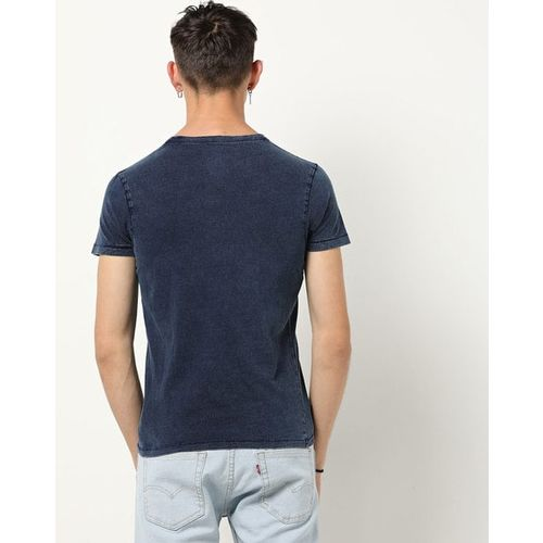 Pepe Jeans Washed Slim Fit Crew-Neck T-shirt