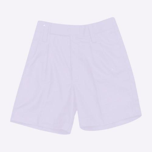 Double F White Cotton Uniform  Shorts Boys