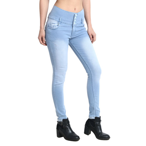 Dryzee 4 Button Denim Jeans for Women's (DZ4BUTTONICE)
