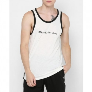 SKULT by Shahid Kapoor Round-Neck Sleeveless Vest with Contrast Necline