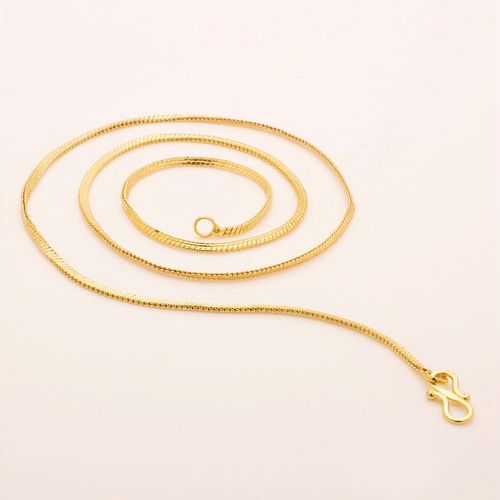 Gold Plated Brass & Copper Chain for Women By Beadworks