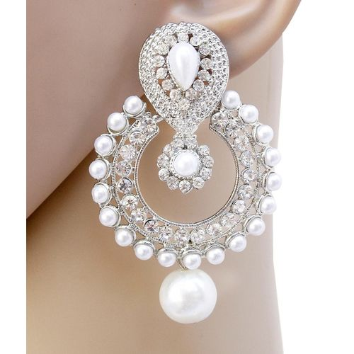 Jewels Capital Exclusive White Earrings Set /S 1583