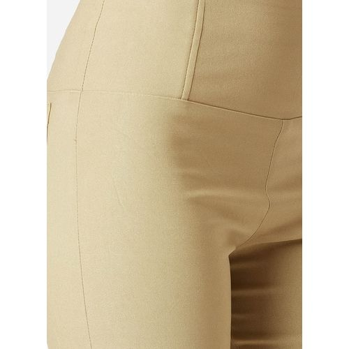 MISS CHASE Mid-Rise Jeggings with Back Patch Pockets