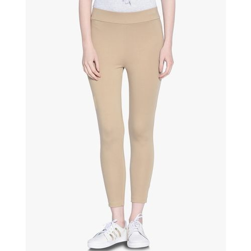 Gipsy Mid-Rise Jeggings with Elasticated Waistband