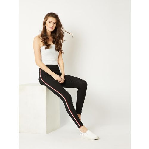 MISS CHASE Solid Jeggings