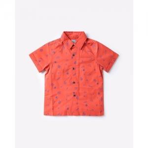 NAUTI NATI Printed Shirt with Welt Pocket