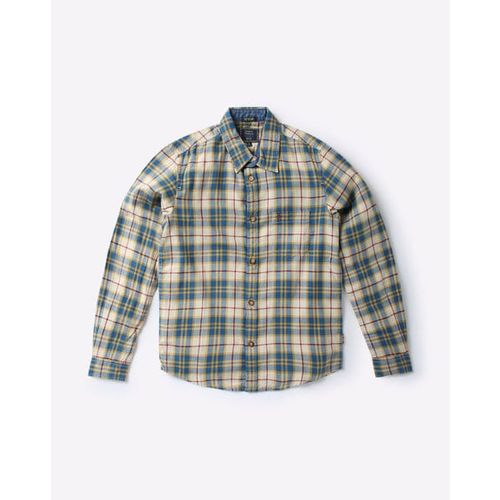 INDIAN TERRAIN Checked Shirt with Patch Pocket