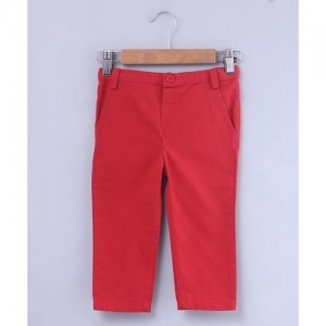BEEBAY Solid Relaxed Fit Trousers