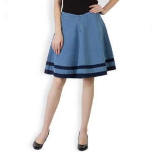 RIDER REPUBLIC Solid A-line Skirt
