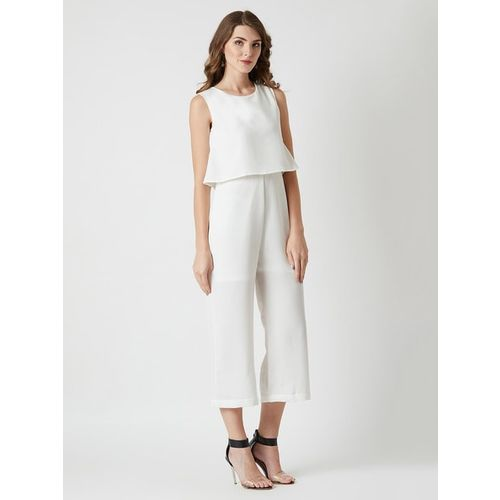 MISS CHASE Layered Cropped Jumpsuit
