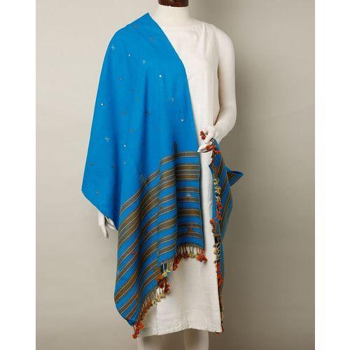 Indie Picks Kutch Handloom Woven Woollen Shawl