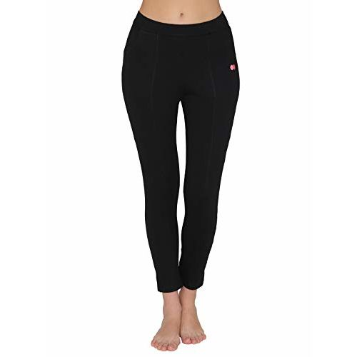 Clovia Women's Cotton Gym/Sports Activewear Tights