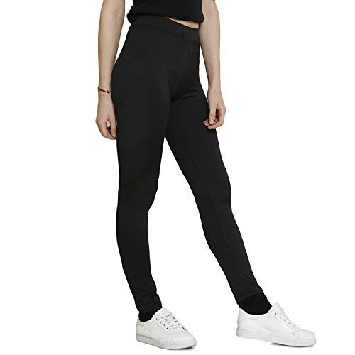 INDIAN BLU Sportswear/Casual Girls Tights Dryfit Polyster Navy Blue Color