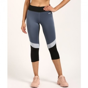 ADIDAS Solid Women Blue Tights