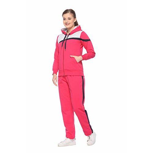 IN Love Women's Winter Wear Fleece Zipper Tracksuits (TS1407)