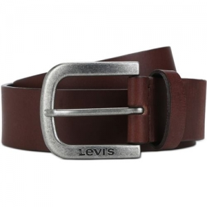 Levi's Men Casual Brown Genuine Leather Belt