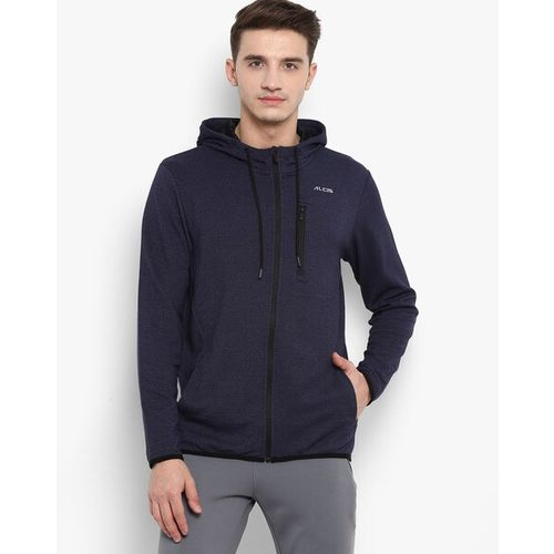 ALCIS Zip-Front Hoodie with Insert Pockets