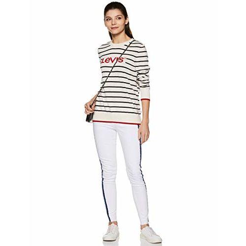 Levi's Women's Striped Regular Fit T-Shirt