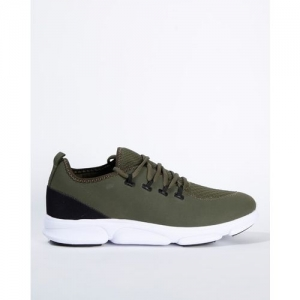 AJIO Low-Top Lace-Up Running Shoes