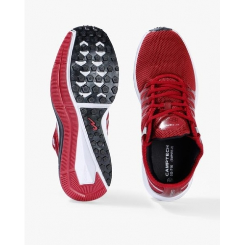 Campus Empire Red Running Shoes