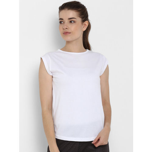appulse Women Pack Of 2 Solid Round Neck T-shirts