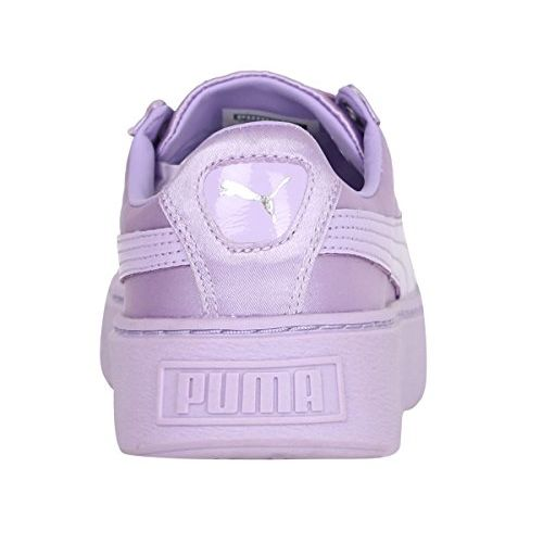 Puma Girl's Basket Platform Tween Jr Sneakers