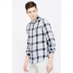 PEPE JEANS Checked Full Sleeves Regular Fit Shirt
