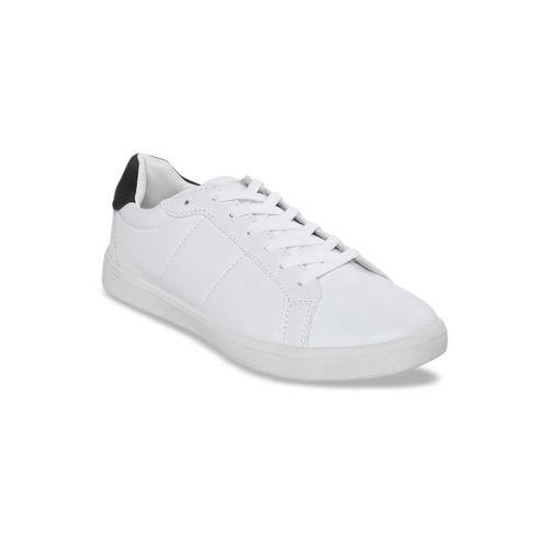 Bond Street By Red Tape Men White Sneakers