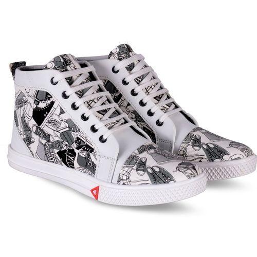 Essence Stylesh Sneakers For Men(Black, Grey)