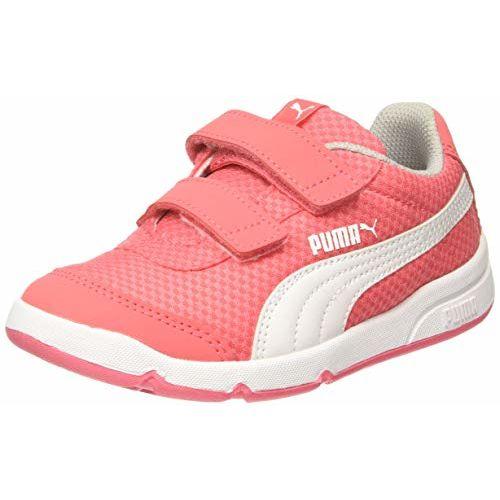 Puma Kids-Unisex Stepfleex 2 Mesh VE V PS Calypso Coral-P