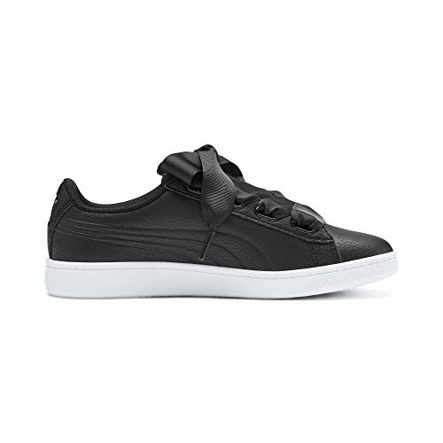 Puma Kids-Girls Vikky v2 Ribbon SL Jr Black-Pu