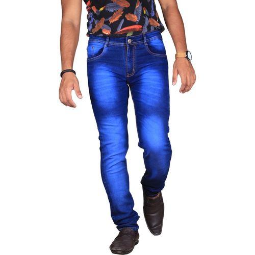 Lzard Regular Men Blue Jeans