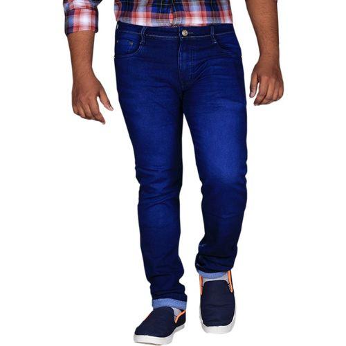 Lzard Slim Men's Dark Blue Jeans